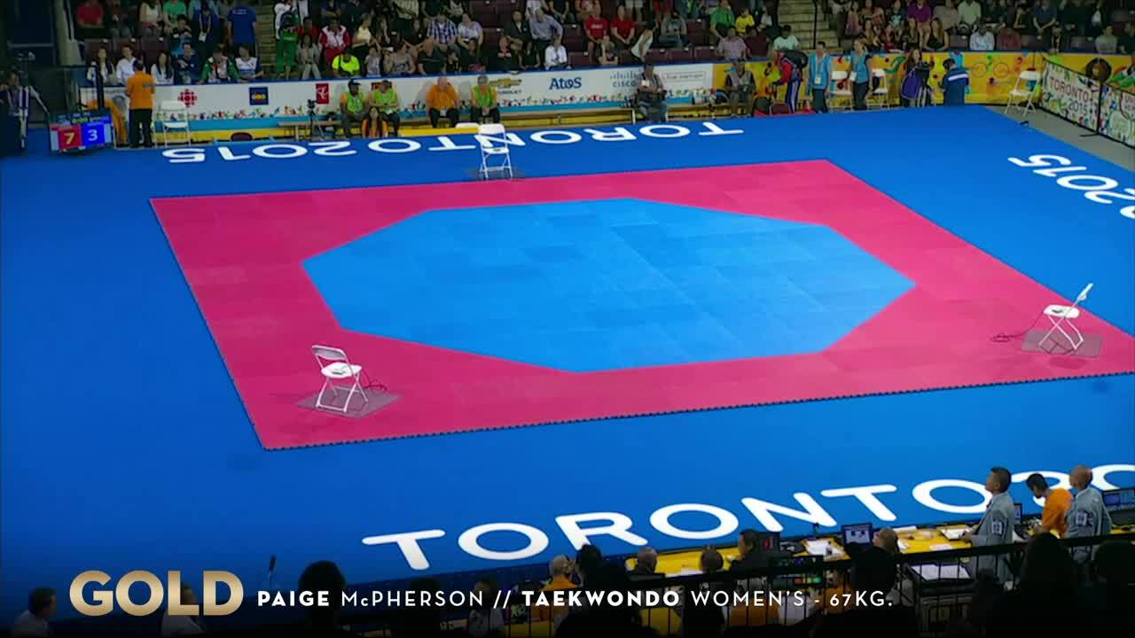 McPherson Seals Gold In Taekwondo