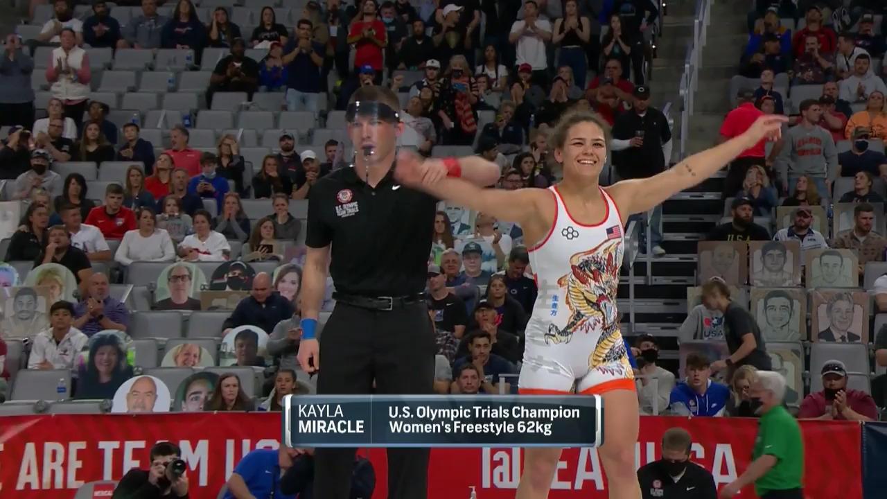 Kayla Miracle VS Macey Kilty - Women's freestyle (62 kg.) | Wrestling U.S. Olympic Team Trials 2020