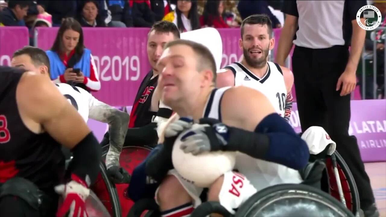Wheelchair Rugby Wins Gold, Qualifies For Tokyo 2020 | Parapan American Games Lima 2019