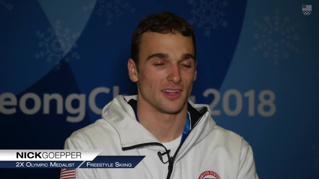 Nick Goepper Is Aiming For Gold In Beijing 2022 | Team USA In PyeongChang
