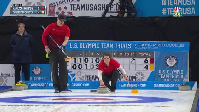 Olympic Mixed Doubles Curling Trials | Final Comes Down To The Wire And The Hamiltons Come Out On Top