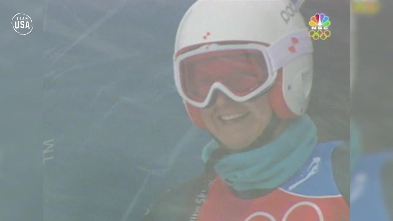 Team USA Olympic Anniversary | Julia Mancuso Torino 2006