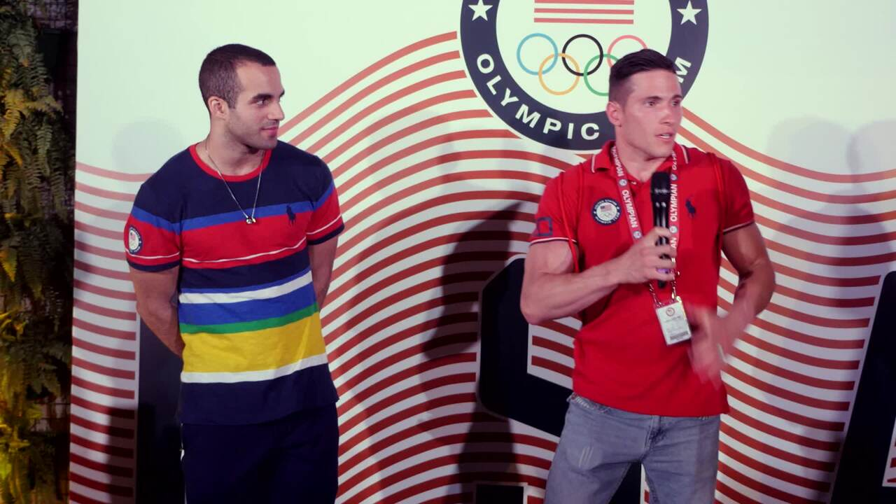 Alex Naddour and Danell Leyva Honor Their Fathers