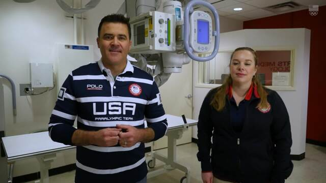Team USA Insider presented by Nabisco | Why Does Team USA Need An X-Ray Unit?