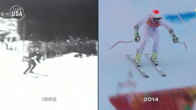 Then & Now: Skiing