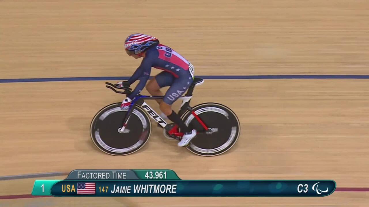 Jamie Whitmore | Women's C1-2-3 500m Time Trial | 2016 Paralympic Games