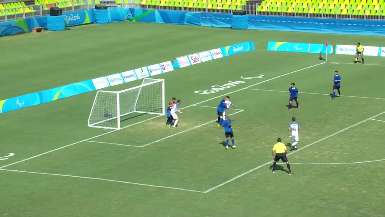 7 v 7 Football Pool B | USA vs Argentina Highlight | 2016 Paralympic Games