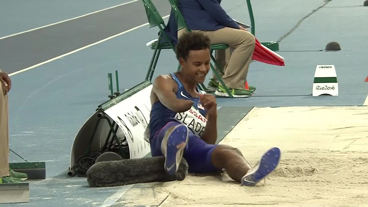Nick Slade | Men's Long Jump T47 Final | 2016 Paralympic Games