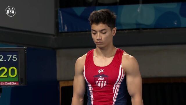 Brandon Briones' Gold Medal Vault Routine