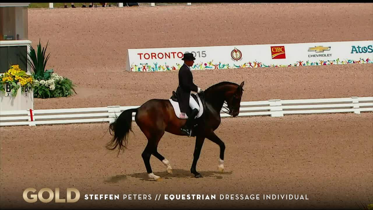 Olympian Steffen Peters Wins Gold In Dressage