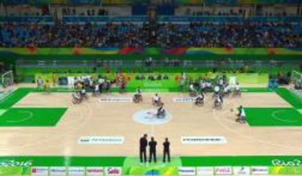 Men's Wheelchair Basketball | USA vs ALG Group B Preliminary | 2016 Paralympic Games