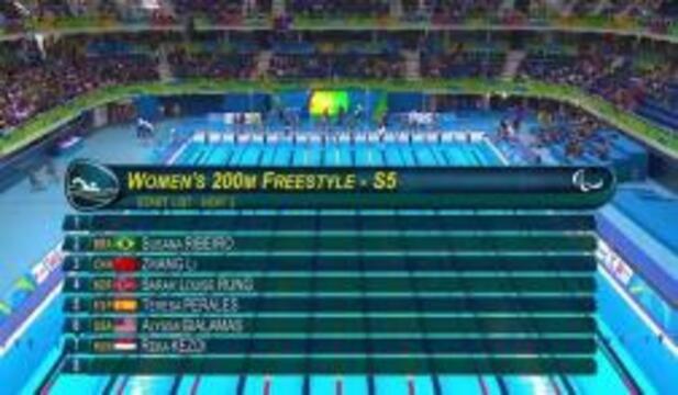Alyssa Gialamas | Women's 200m Freestyle S5 Heat | 2016 Paralympics