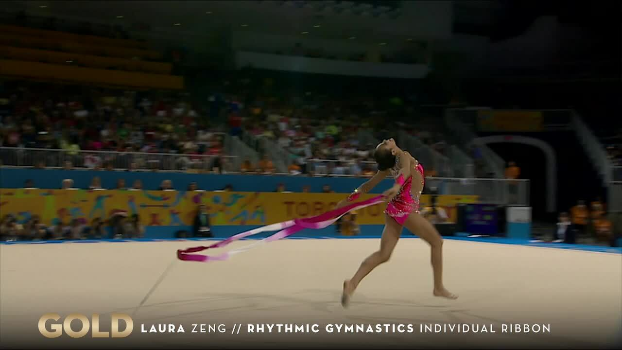 Ribbons Gold Goes To Team USA's Zeng