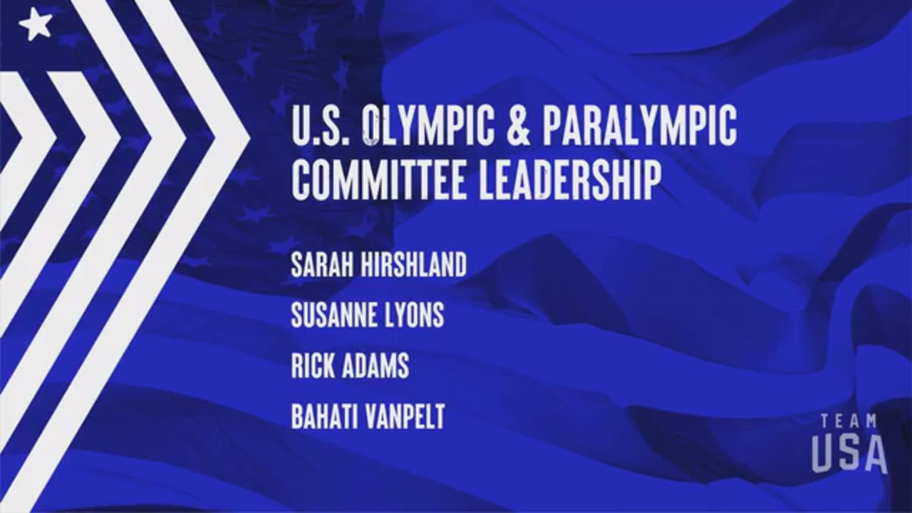 USOPC Leadership | Tokyo 2020 Team USA Virtual Media Summit