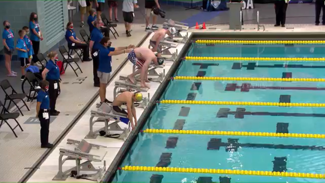 Para Swimming Men's 50-Meter Fly S5-S7   U.S. Paralympic Team Trials 2021