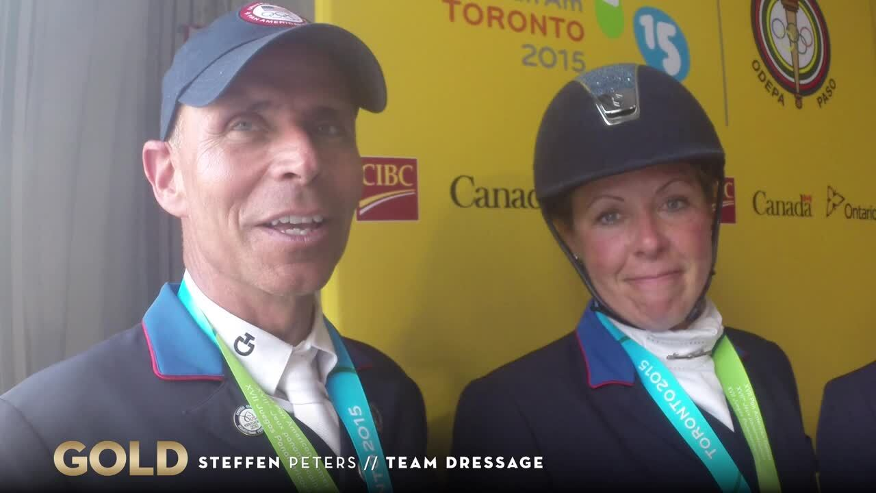 Olympian Steffen Peters Leads Dressage To Gold