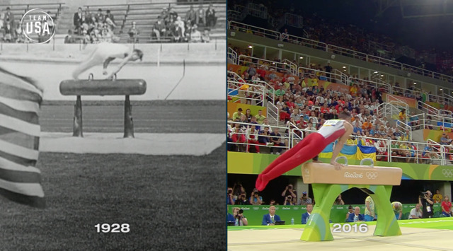 Then & Now: Pommel Horse