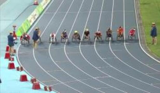 Men's T54 5000m Round 1  Heat 2 | 2016 Paralympic Games
