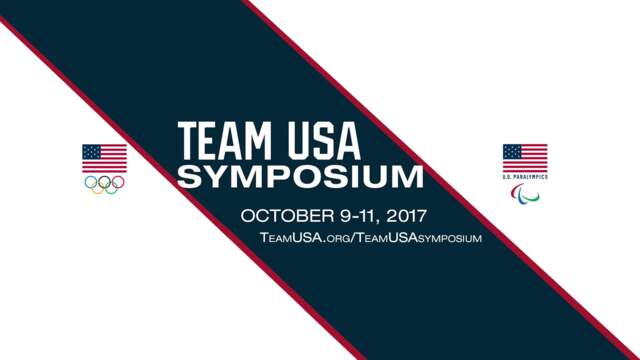 Introduction To The Team USA Symposium