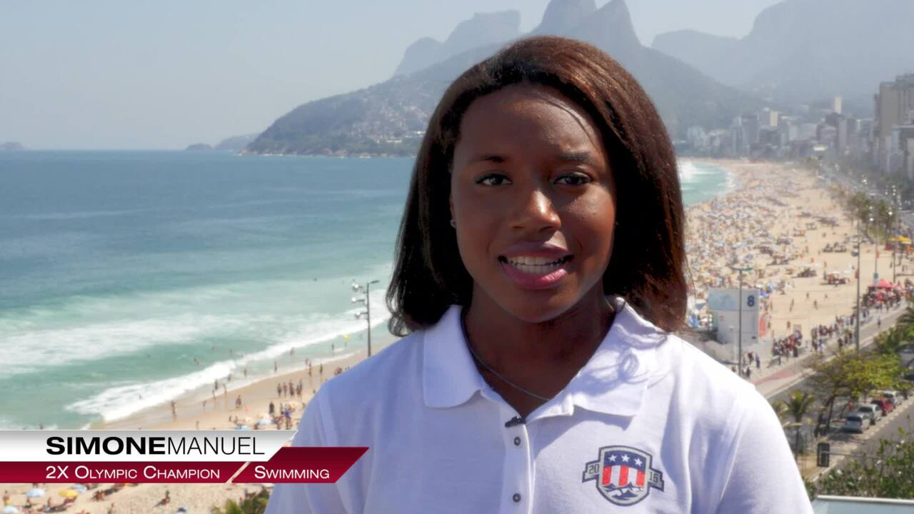 Simone Manuel On Being An Olympic Champion