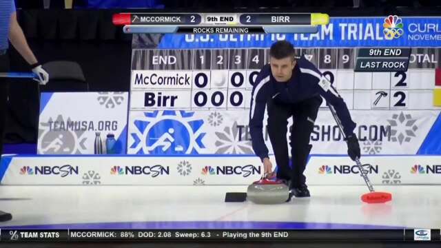Olympic Curling Trials | Team McCormick Pulls Out The Win Against Team Birr