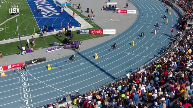 Fred Kerley Becomes Men's 400-meter National Champion | Champions Series Presented By Xfinity