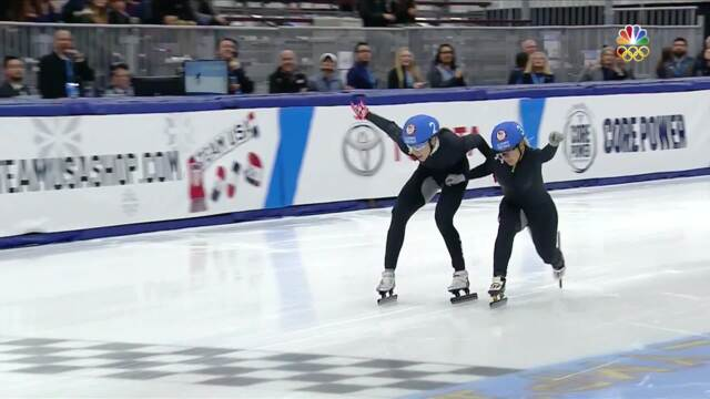 Olympic Short Track Speedskating Trials | Lana Gehring Completes Comeback, Qualifies For 2018 Olympics