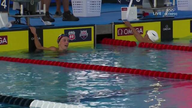 Kathleen Baker, Regan Smith Tie In 200m Backstroke | Summer Champions Series | 2018 Phillips 66 National Championships