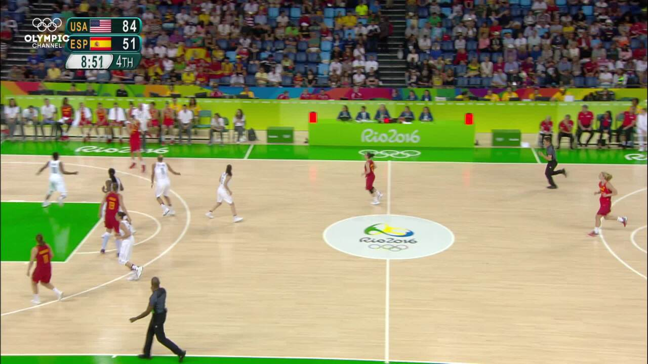 Olympic Channel: U.S. Women Defeat Spain For Basketball Gold