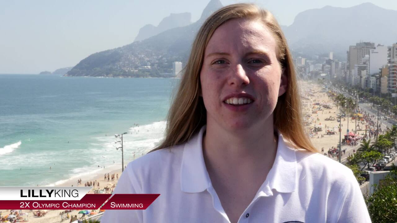 Lilly King On Her First Olympic Experience