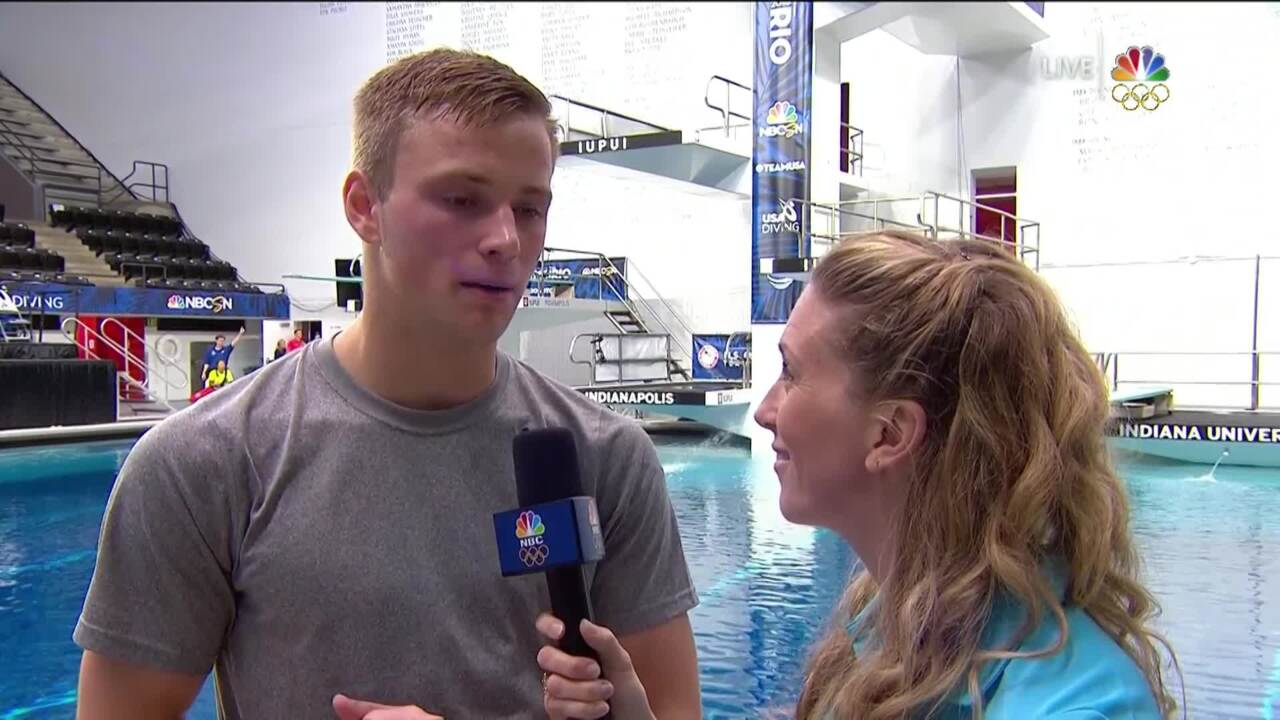 Olympic Diving Trials | Trials Semi Dives Were 'A Little Rough'