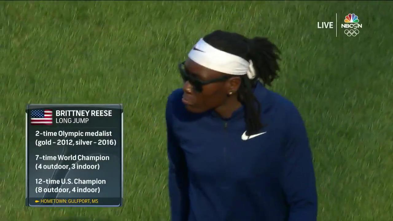 Women's Long Jump Qualifying   Track & Field U.S. Olympic Team Trials 2021