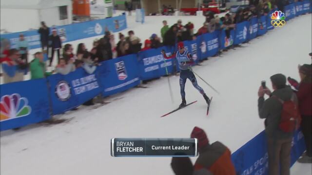 Olympic Nordic Combined Trials | Bryan Fletcher Makes Up Time To Make Second Olympic Team
