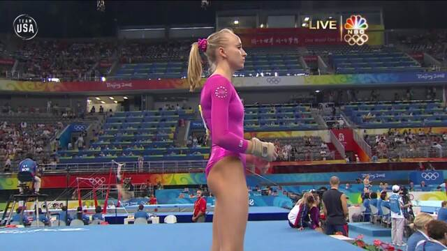 Nastia Liukin Wins Olympic Gold In Women's All-Around