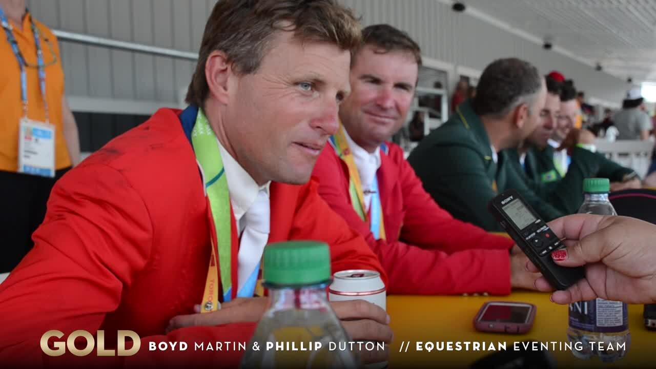 Boyd Martin and Phillip Dutton Win Gold As Team USA Qualifies For Rio