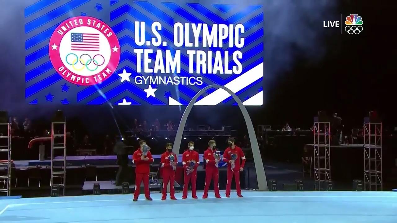 U.S. Men's Gymnastics Olympic Team Announcement | Gymnastics U.S. Olympic Team Trials 2021