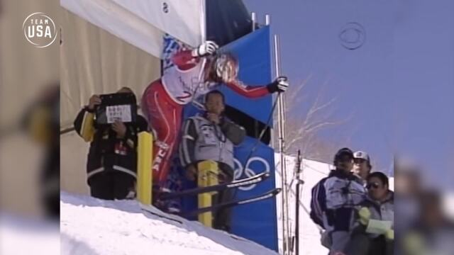 Gold Medal Moments Presented By HERSHEY'S | Picabo Street Overcomes Adversity To Win Gold In Nagano
