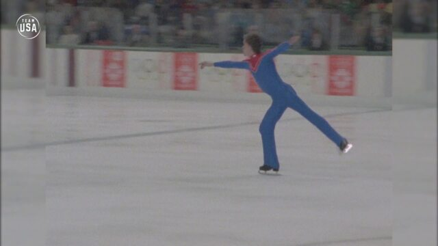 Gold Medal Moments Presented By HERSHEY'S | Scott Hamilton Skates To Gold In Sarajevo