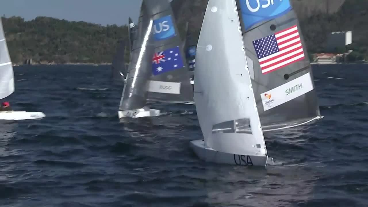Dee Smith | Sailing | 1 Person Keelboat 2.4mR | Race 2 | 2016 Paralympic Games