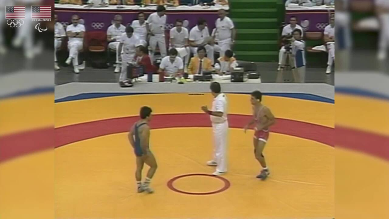 John Smith - Wrestling - U.S. Olympic & Paralympic Hall of Fame Nominee