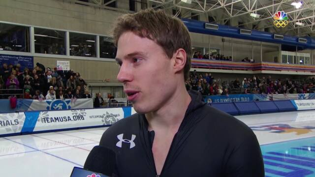 Olympic Long Track Speedskating Trials | Brian Hansen And Joey Mantia Discuss Their Olympic Berths