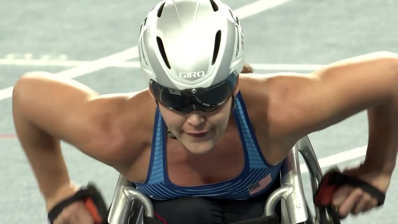 Shirley Reilly and Chelsea McClammer | BRONZE | Women's 800m T52/53 Final | 2016 Paralympic Games