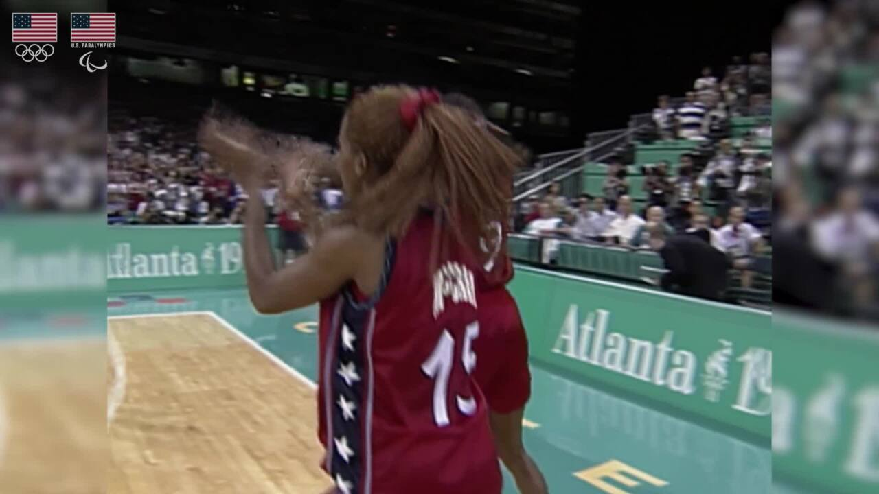 1996 Womens Olympic Basketball Team - U.S. Olympic & Paralympic Hall of Fame Nominee
