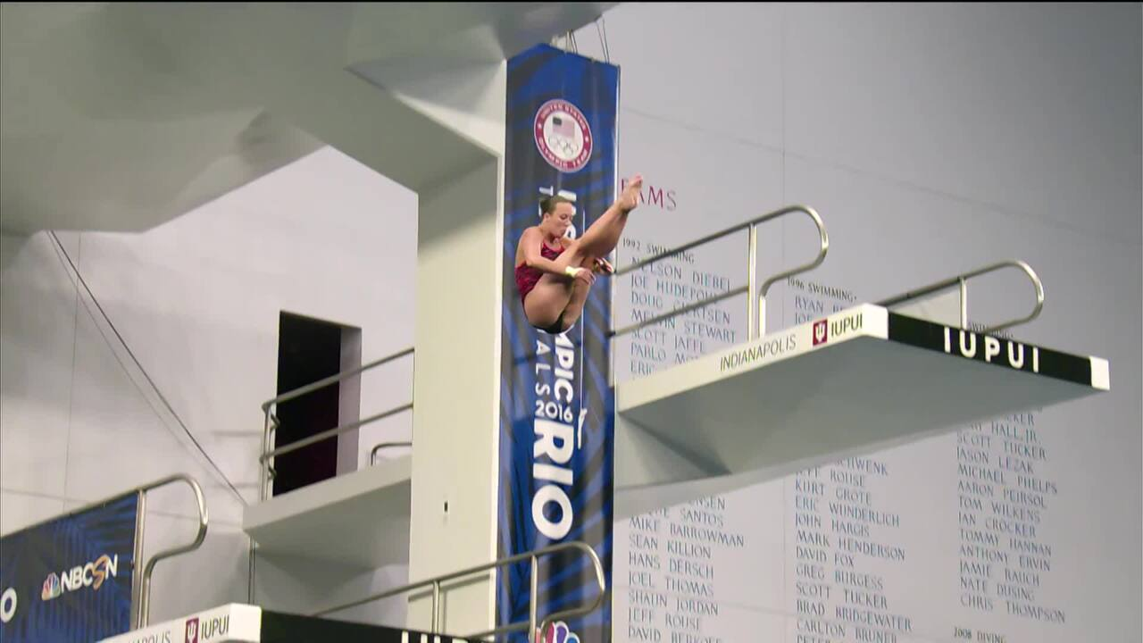 Olympic Diving Trials   Ipsen 'Composed' And Parratto 'Unflappable'