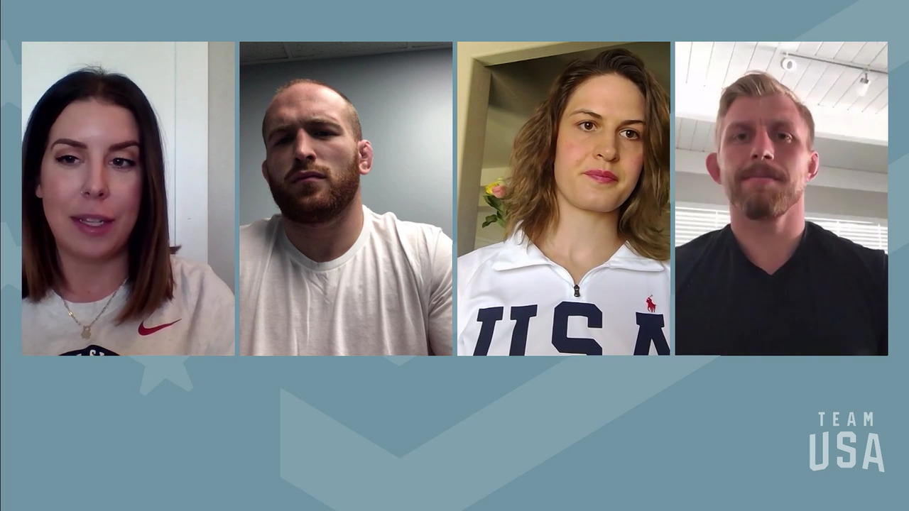 Kyle Snyder, Adeline Gray, Kyle Dake | Tokyo 2020 Team USA Virtual Media Summit