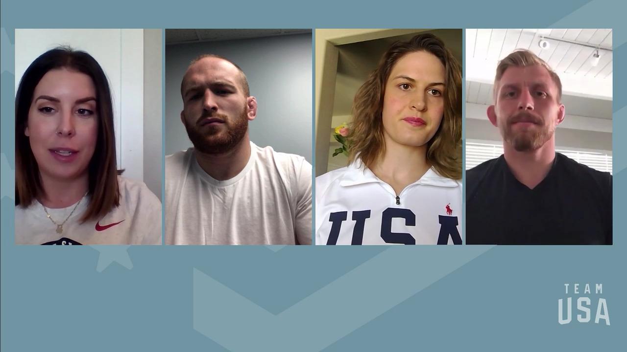 Kyle Snyder, Adeline Gray, Kyle Dake | Tokyo 2020 Team USA Virtual Media Summit