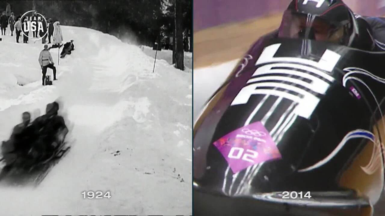 Then & Now: Bobsled