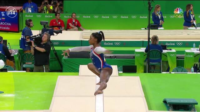 Gold Medal Moments Presented By HERSHEY'S | Simone Biles Is Golden In Rio