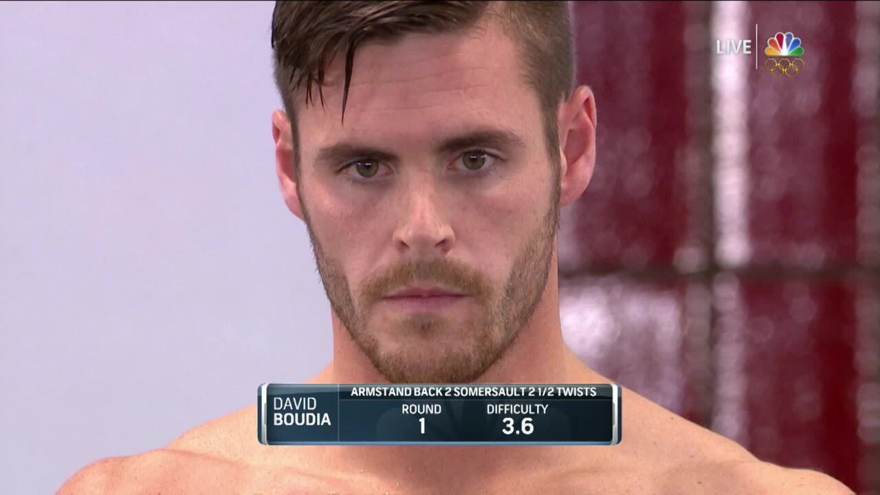 Olympic Diving Trials | David Boudia Executes Clean Armstand In Semi