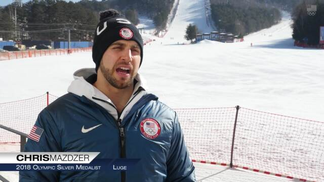 "Chris Mazdzer: ""It's Been Generations Of Luge Athletes To Get Me To This Point"" 